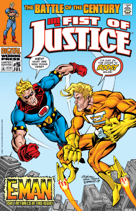 Fist of Justice #5 (Variant)